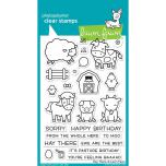 Lawn Fawn Clear Stamps 4X6 - Hay There