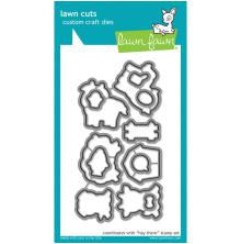 Lawn Fawn Custom Craft Die - Hay There