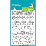 Lawn Fawn Clear Stamps 4X6 - Simply Celebrate