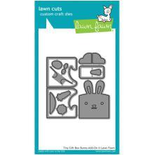 Lawn Fawn Custom Craft Die - Tiny Gift Box Bunny Add-On