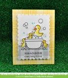 Lawn Fawn Clear Stamps 4X6 - Rub-A-Dub-Dub