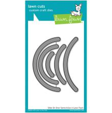 Lawn Fawn Custom Craft Die - Slide On Over Semi-Circles