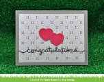 Lawn Fawn Custom Craft Die - Congratulations Border