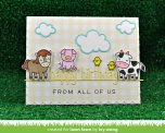 Lawn Fawn Custom Craft Die - Happy Birthday Line Border