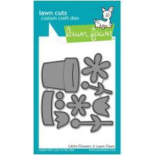 Lawn Fawn Custom Craft Die - Little Flowers