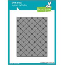 Lawn Fawn Custom Craft Die - Quilted Backdrop