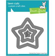 Lawn Fawn Custom Craft Die - Stitched Star Frames