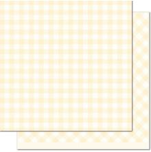 Lawn Fawn Gotta Have Gingham Double-Sided Cardstock 12X12 - Daisy