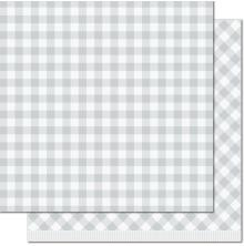 Lawn Fawn Gotta Have Gingham Double-Sided Cardstock 12X12 - Nellie