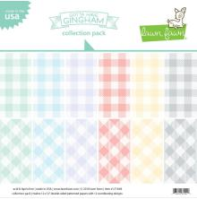 Lawn Fawn Double-Sided Collection Pack 12X12 12/Pkg - Gotta Have Gingham