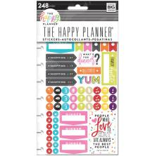 Me & My Big Ideas Happy Planner Stickers 248pcs - What´s For Dinner?
