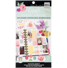 Me & My Big Ideas Happy Planner Sticker Value Pack - Floral Memories