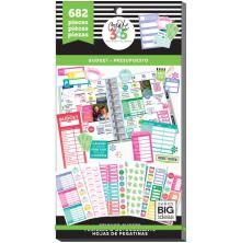 Me & My Big Ideas Happy Planner Sticker Value Pack - Budget Fill-In