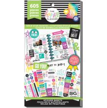 Me & My Big Ideas Happy Planner Sticker Value Pack - Gold Star Quotes