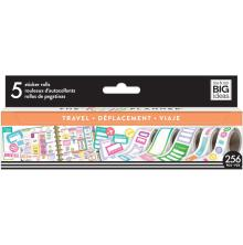 Me & My Big Ideas Happy Planner Sticker Roll - Travel