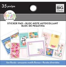 Me & My Big Ideas Happy Planner Tiny Sticker Pad - Fun Florals