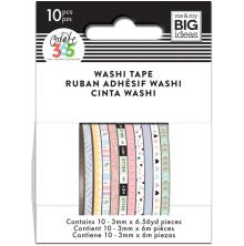 Me & My Big Ideas Happy Planner Skinny Washi Tape - Pastel