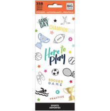 Me & My Big Ideas Stickers 358/Pkg - Sports