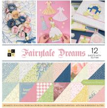 Die Cuts With A View Double-Sided Cardstock Stack 12X12 36/Pkg - Fairytale