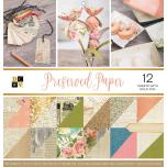 Die Cuts With A View Double-Sided Cardstock Stack 12X12 36/Pkg - Preserved Paper