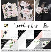 Die Cuts With A View Double-Sided Cardstock Stack 12X12 36/Pkg - Wedding Day