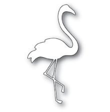 Poppystamps Die - Fine Flamingo