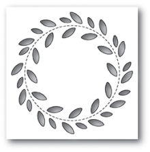 Poppystamps Die - Stitch Wreath