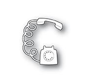 Poppystamps Die - Rotary Phone