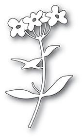 Memory Box Die - Forget Me Not Blooms