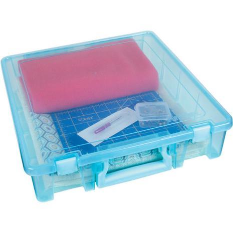 Artbin Super Satchel Single Compartment 15.25X14X5.5 - Aqua Mist