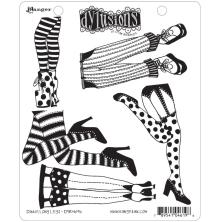 Dylusions Cling Stamps 8.5X7 - Daddy Long Legs