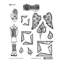 Dylusions Cling Stamps 8.5X7 - Tallulah Tripp