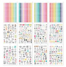 Simple Stories Carpe Diem A5 Planner Sticker Tablet - Calendar