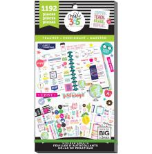 Me & My Big Ideas Happy Planner Sticker Value Pack - Sweet Life Teacher