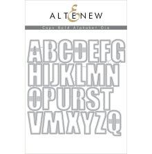 Altenew Die Set - Caps Bold Alphabet