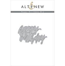 Altenew Die Set - Happy birthday