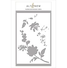 Altenew Stencil 6X8 - Watercolor Bouquet