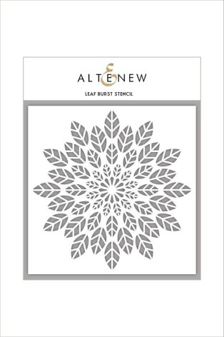 Altenew Stencil 6X6 - Leaf Burst