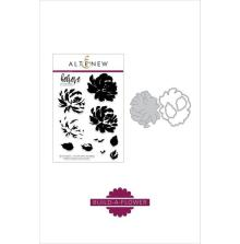 Altenew Clear Stamp And Die Build A flower - Chrysanthemum