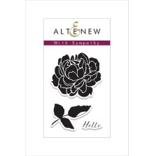 Altenew Clear Stamps 2X3 - With Sympathy