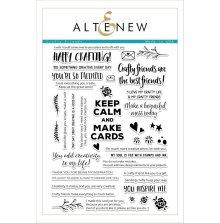 Altenew Clear Stamps 6X8 - Crafty Friends
