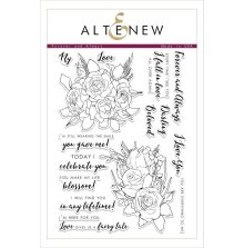 Altenew Clear Stamps 6X8 - Forever and Always