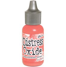 Tim Holtz Distress Oxide Ink Reinker 14ml - Abandoned Coral