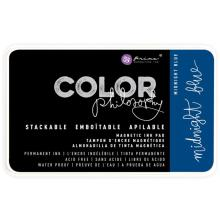 Prima Color Philosophy Permanent Ink Pad - Midnight Blue