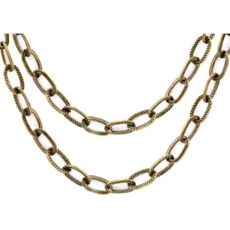 Tim Holtz Assemblage Metal Chain - Brass Link