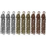 Tim Holtz Assemblage Charms 9/Pkg-  Small Tassels