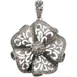 Tim Holtz Assemblage Pendant - Ruffled Floral