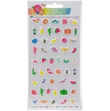 Amy Tangerine Sunshine & Good Times Puffy Stickers - Mini Icons