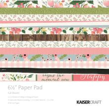 Kaisercraft Paper Pad 6.5X6.5 40/Pkg - Full Bloom