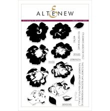 Altenew Clear Stamps 6X8 - Strength Blooms
